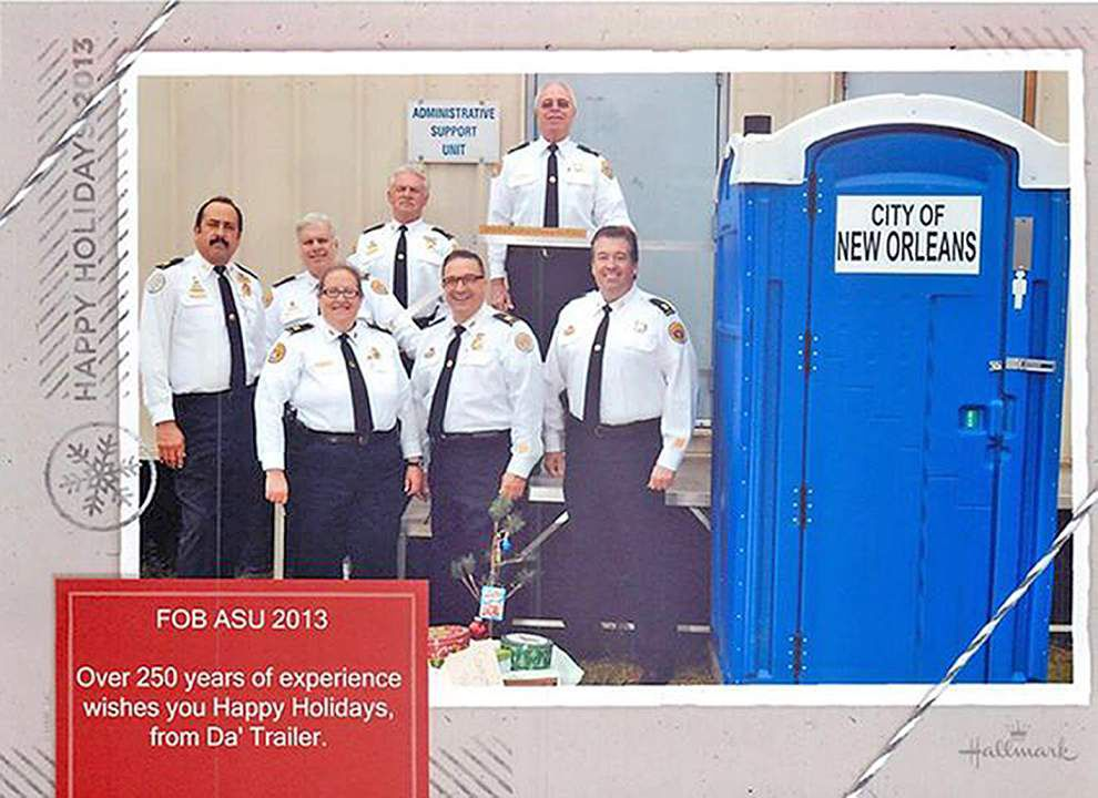 "High-ranking NOPD ""trailer trash"" out of the park, back on the streets _lowres"