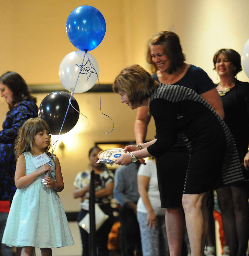 Acadiana students meeting challenges honored as Cox Inspirational Heroes _lowres