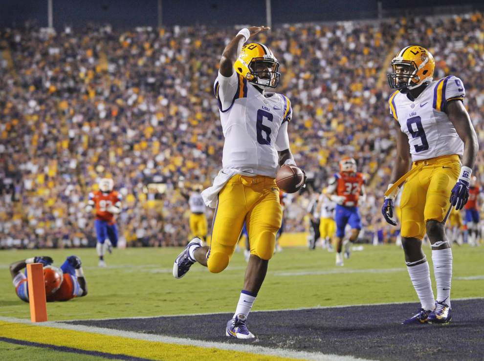 Video: The Advocate reviews LSU's 56-0 victory against Sam Houston State _lowres