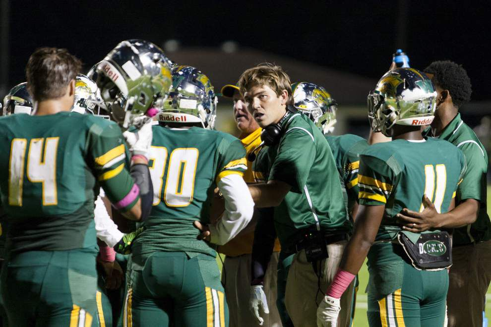 Some Baton Rouge area prep football teams in limbo as they wait to see if they are in playoffs or not _lowres