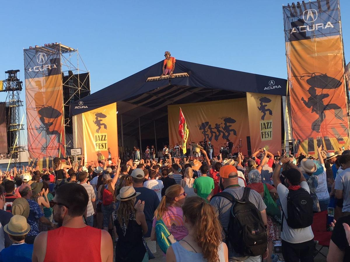 Jazz Fest 2018 cubes are out: see set times, stages_lowres