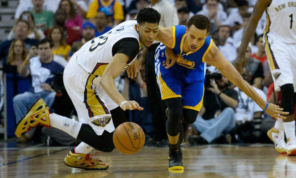 Photos: Pelicans downed by Warriors _lowres