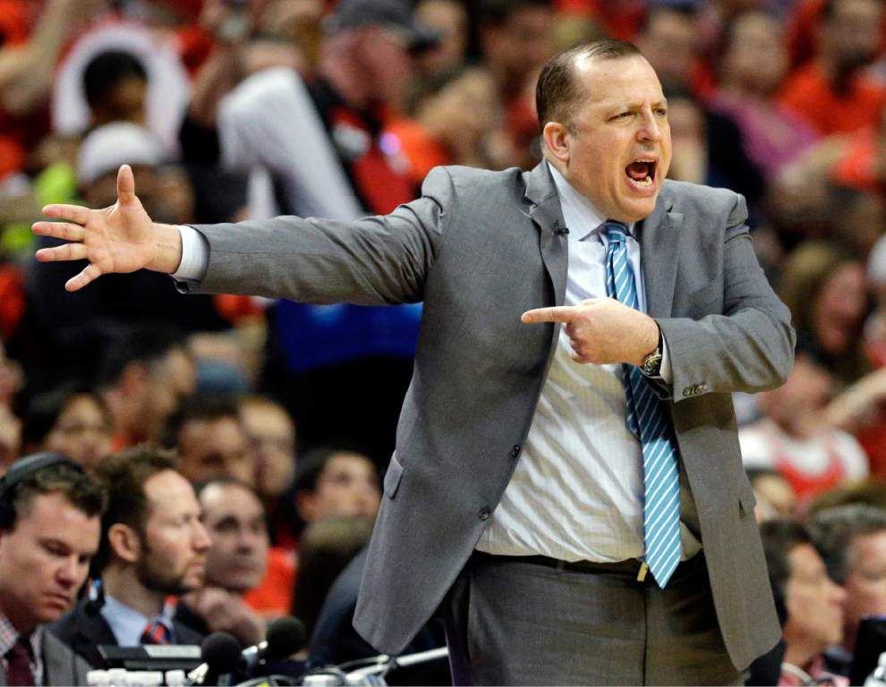 Lewis: No matter how you pronounce that last name, Tom Thibodeau looks like he might be a fit for the Pelicans _lowres