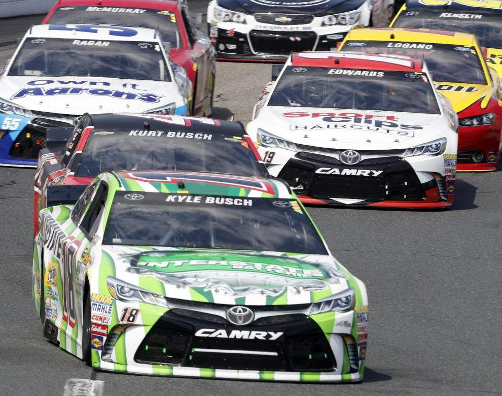 With victory at New Hampshire, Kyle Busch makes it three wins in past four Sprint Cup races _lowres