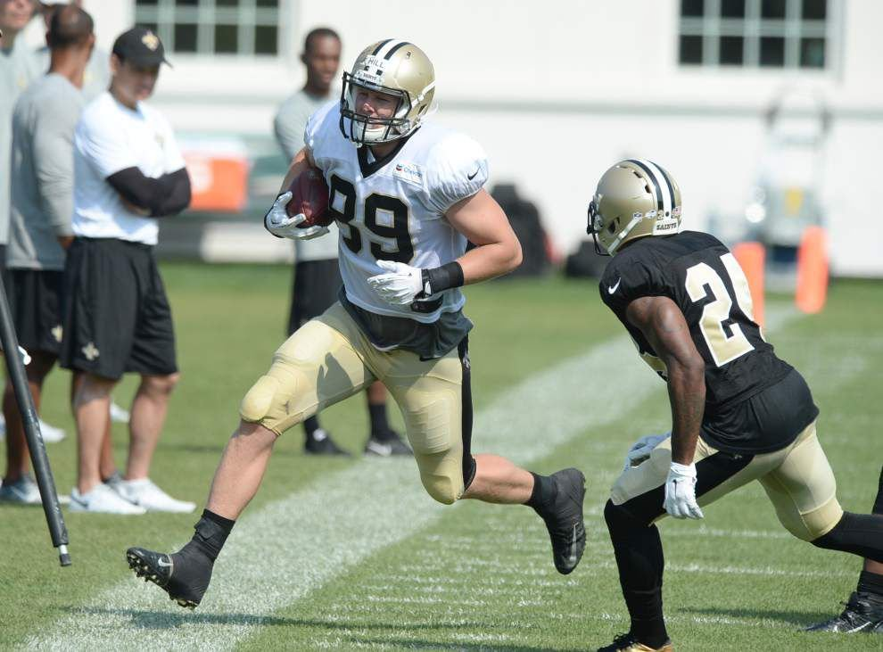 Lewis: Greenbrier could be Saints' training camp for years to come _lowres