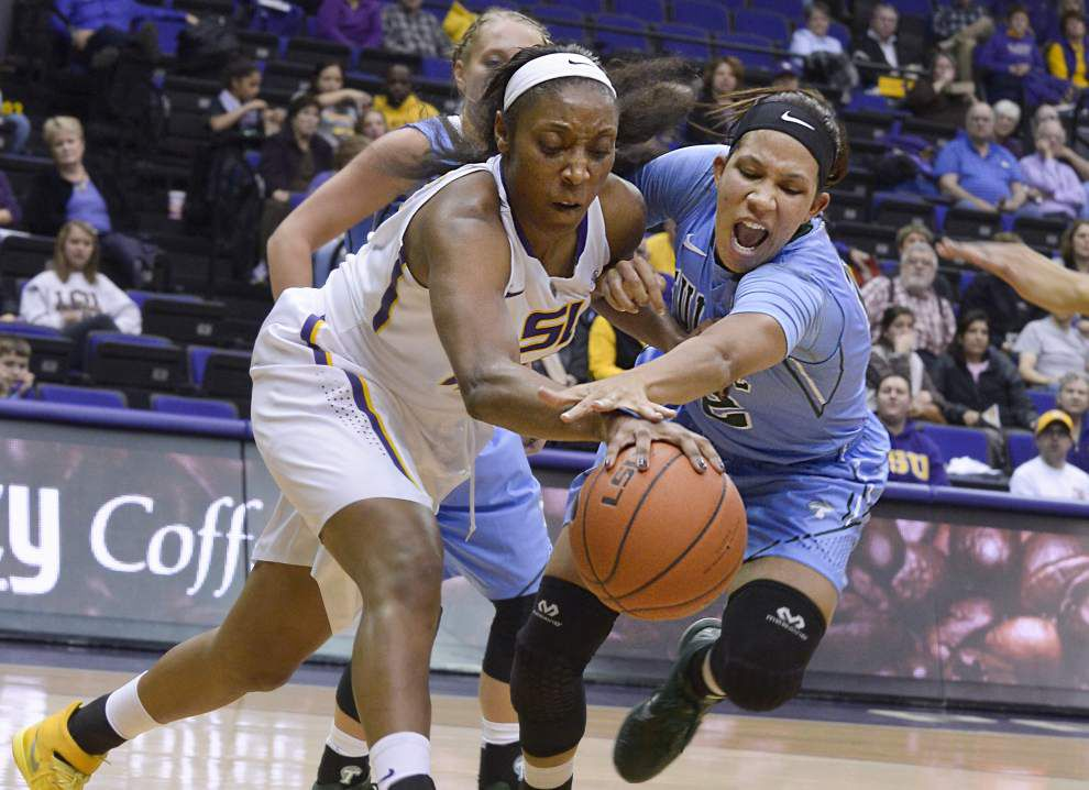 Gallery: Tulane women hold off LSU in 51-45 victory _lowres