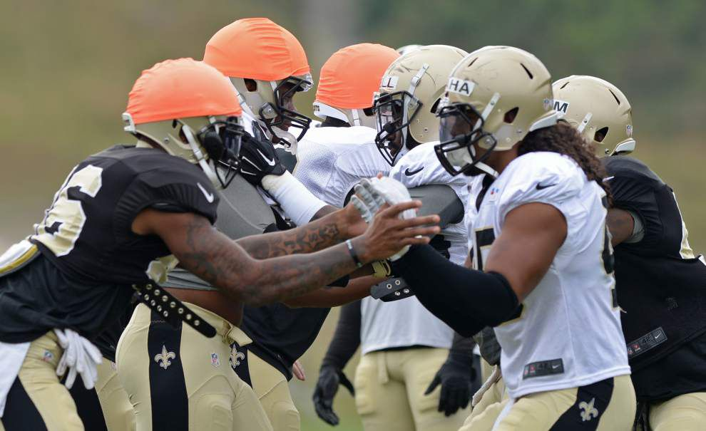 Projecting the Saints 53-man roster going into their first preseason game _lowres
