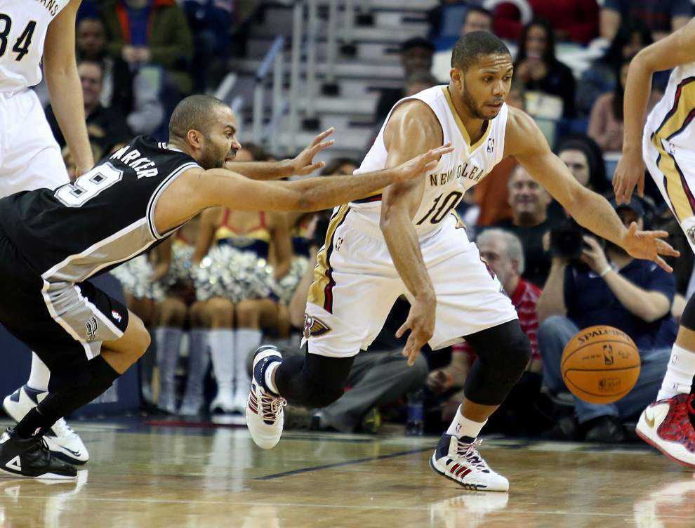 Injured Pelicans guard Eric Gordon to return to the lineup for Monday's game against Washington _lowres