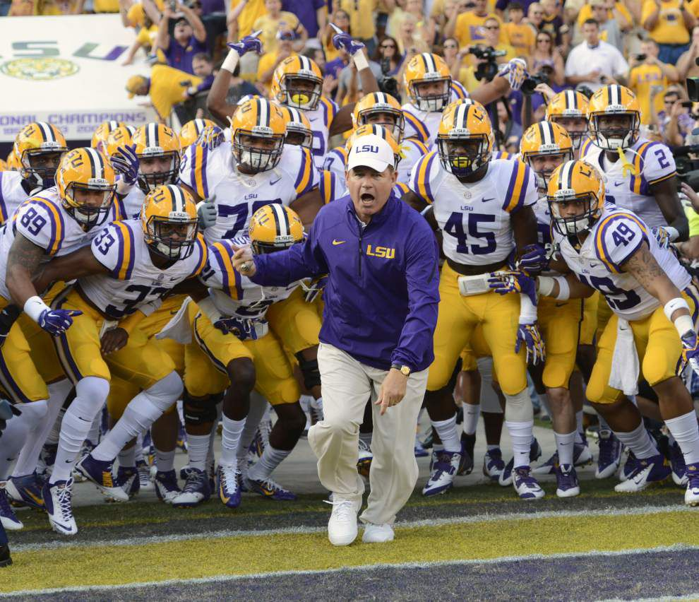 In annual Herbie Awards, college football analyst says LSU could contend for national title _lowres