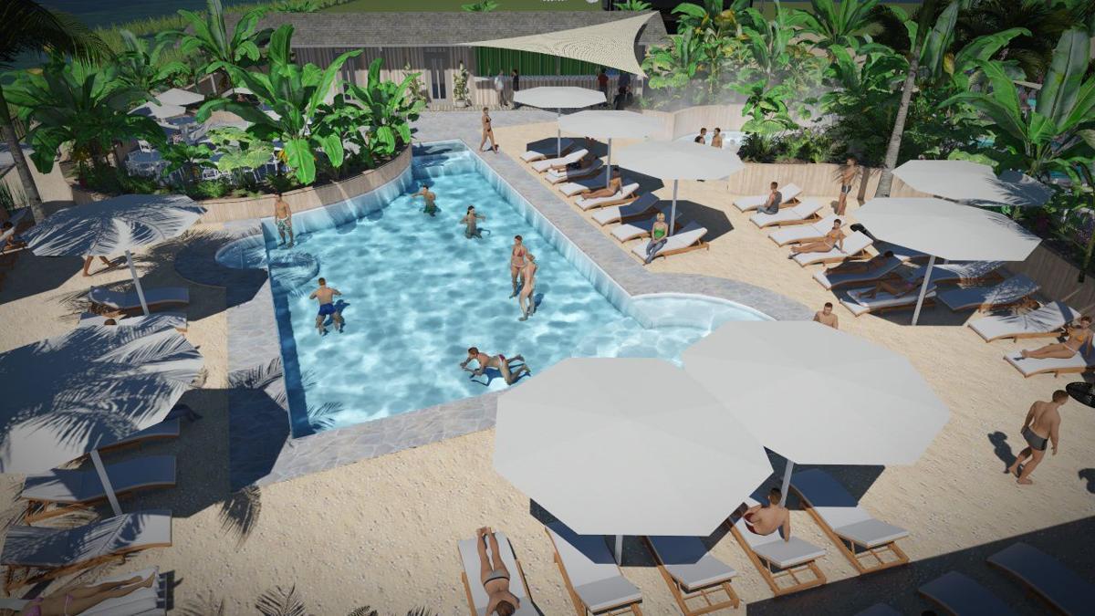 Nola City Beach pool