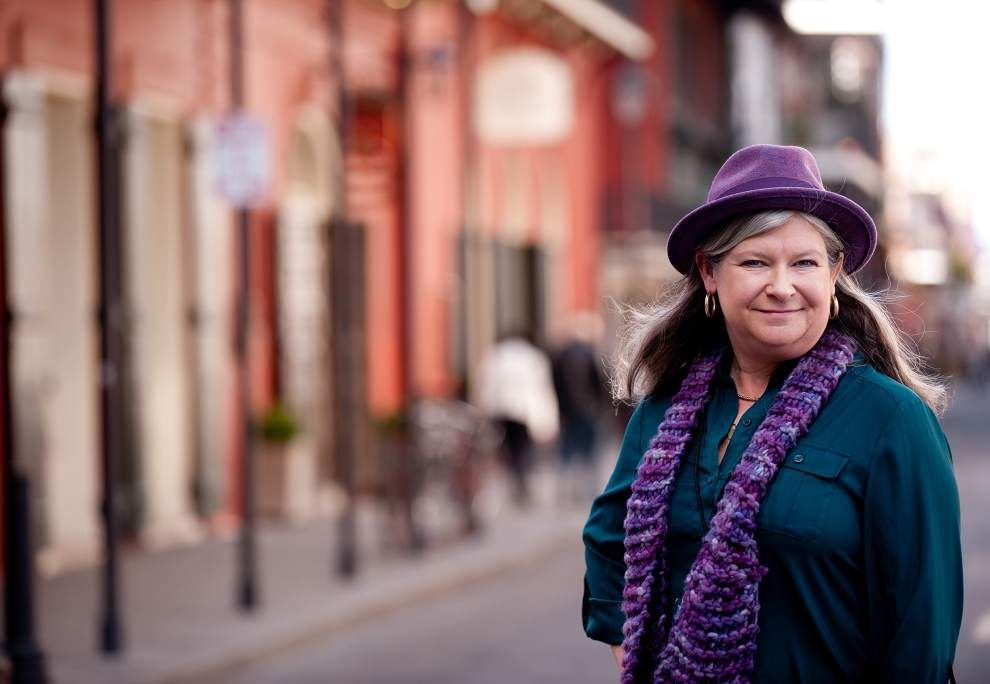 New Orleans tour guide brings wit, love of city to her work _lowres
