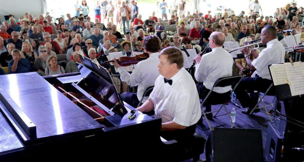 Lars Edegran, New Orleans Ragtime Orchestra shows plenty of variety at Jazz Fest _lowres