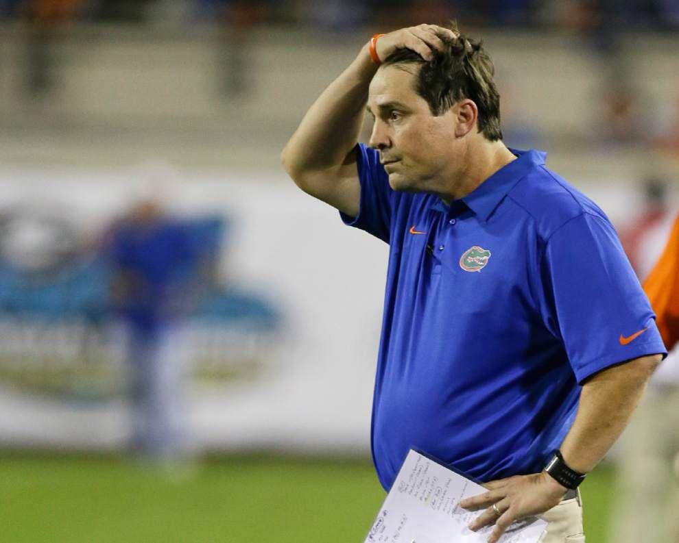 Florida coach Will Muschamp rips critics, defends his disciplinary tactics _lowres