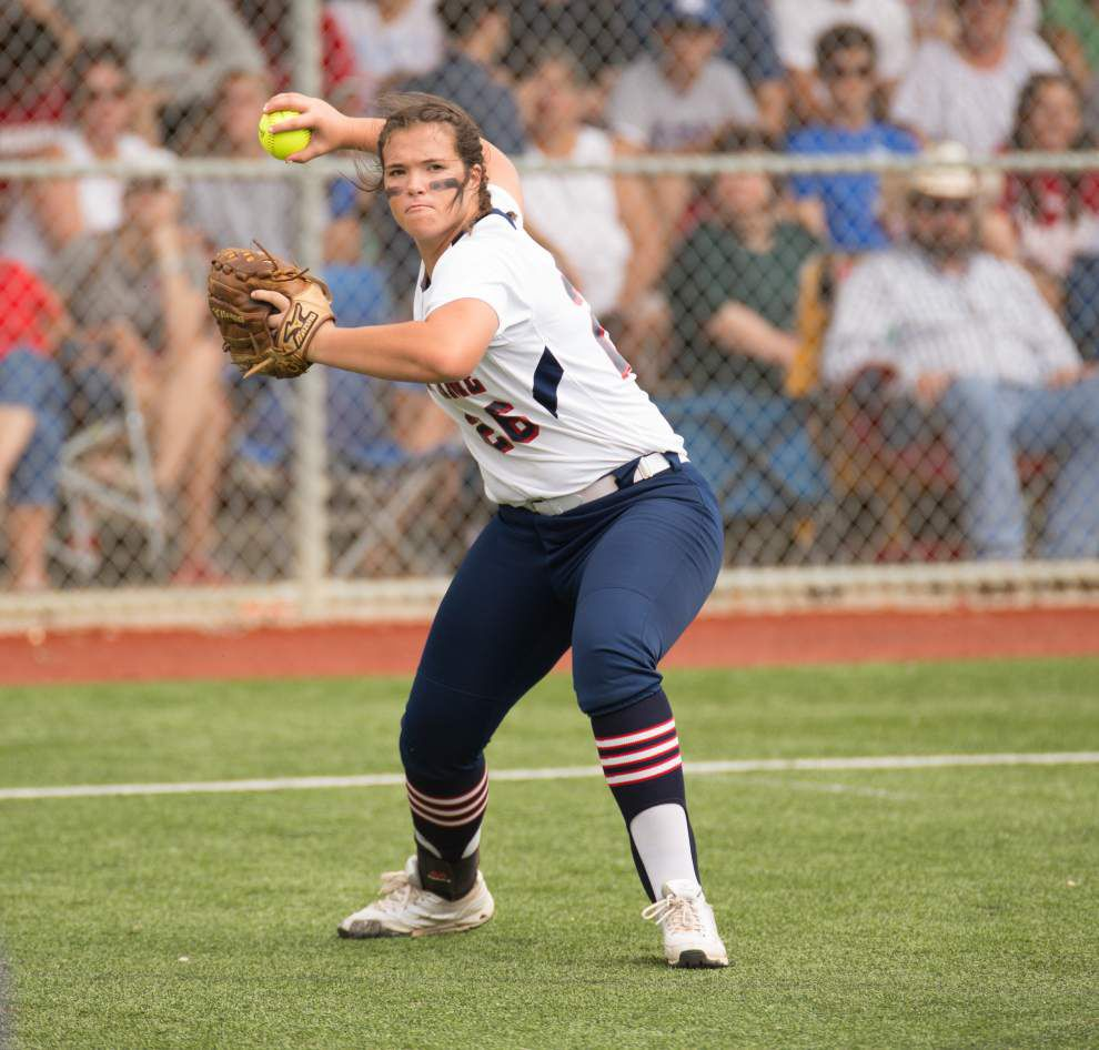 LHSAA state softball tournament: Notre Dame's three-run fourth sparks 6-2 win over Doyle _lowres