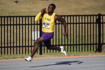 LSU: Kary Vincent track