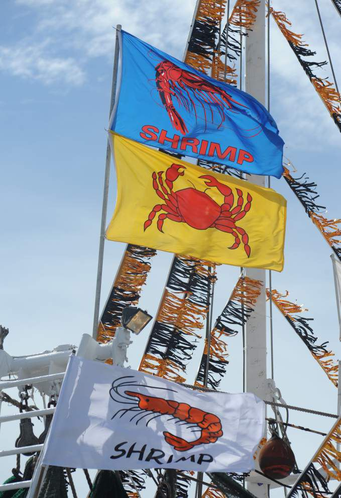 Photos: Port of Delcambre hosts annual 'Blessing of The Fleet' for shrimp season _lowres
