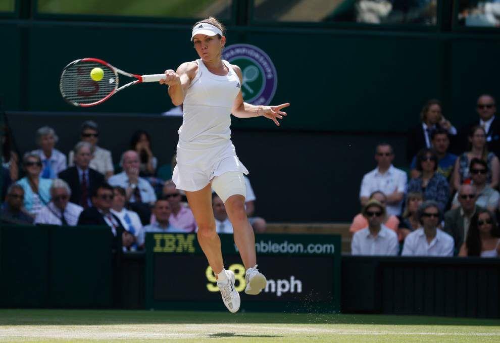 Dimitrov stuns Murray at Wimbledon _lowres