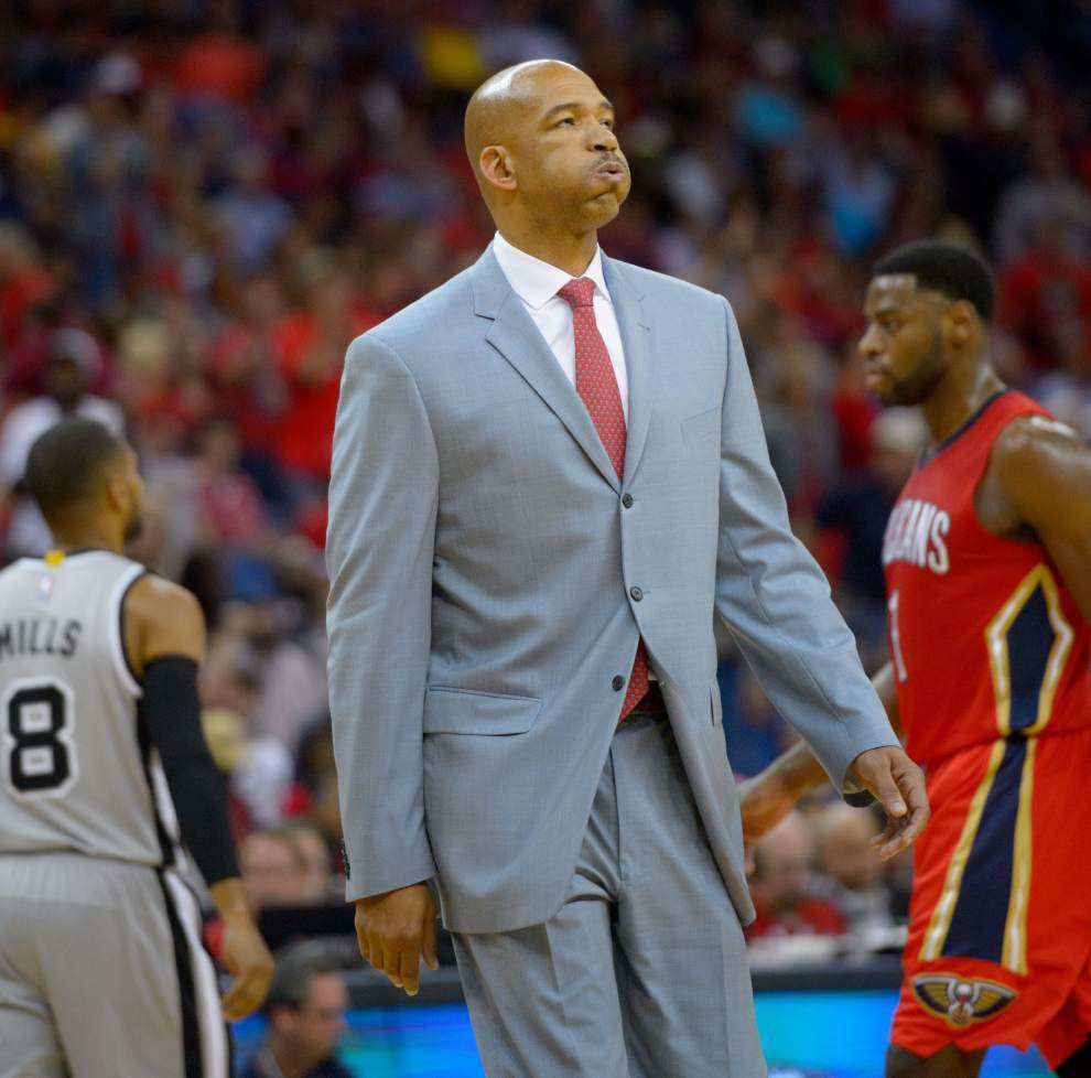 New Orleans Pelicans VP Mickey Loomis: Monty Williams fired because 'we needed something different going forward' _lowres