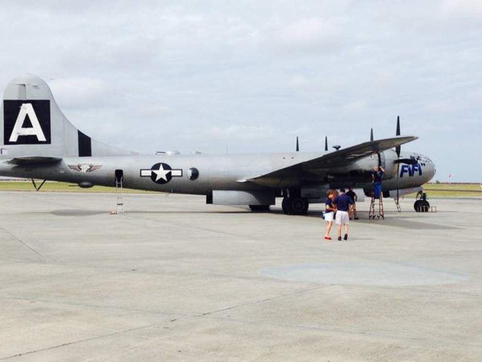 Follow New Orleans Advocate staff as they ride on only WWII B-29 Superfortress still flying today _lowres
