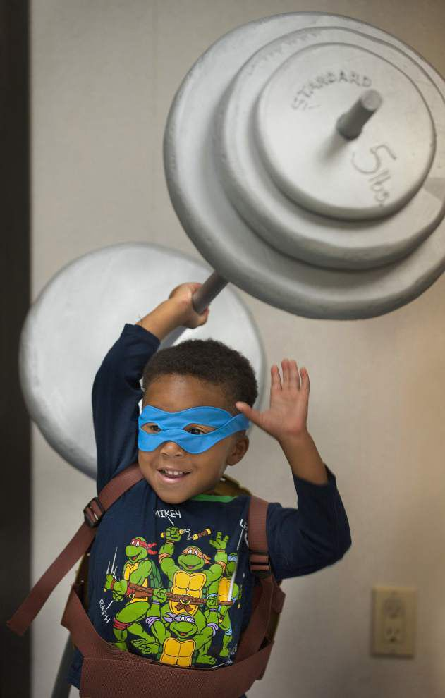 Library hosts Superhero Academy party _lowres