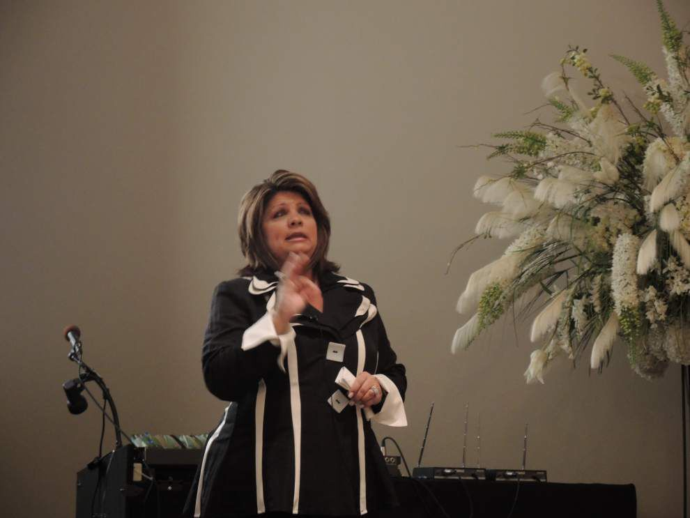 Speaker says finding inner peace key to facing change _lowres