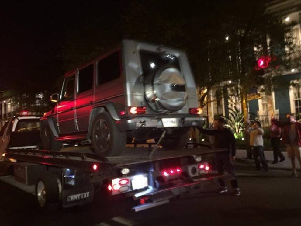 New video in Will Smith shooting appears to show Hummer's brake lights, two people taking cover _lowres