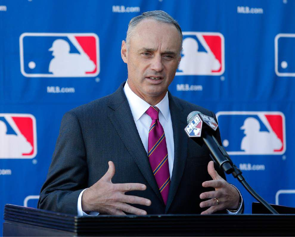 Labor peace, new technology are on new MLB commissioner Rob Manfred's mind _lowres