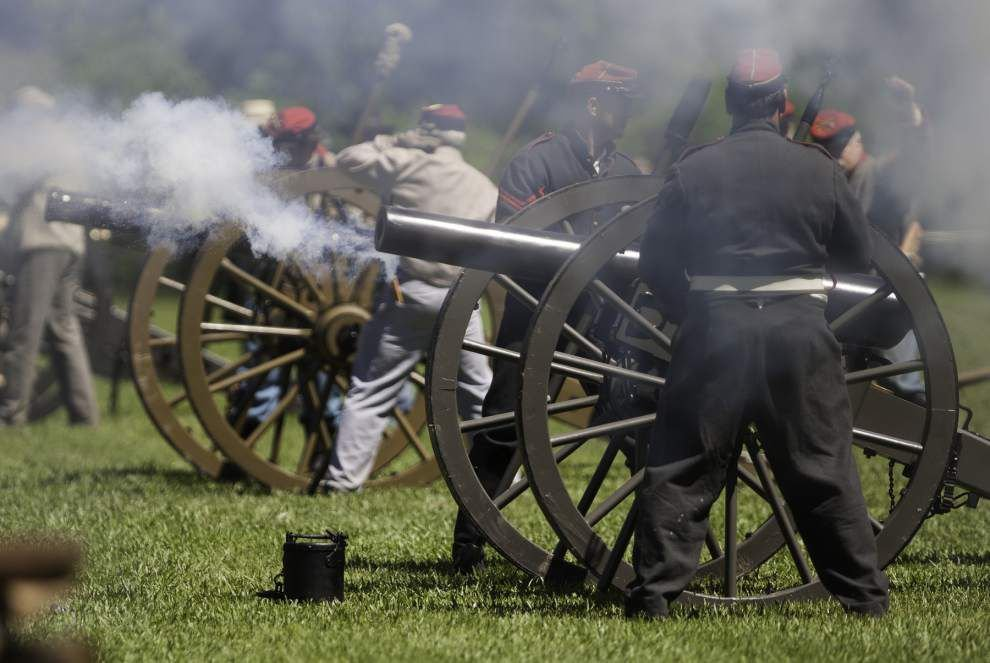 Port Hudson to host 153rd siege re-enactment _lowres