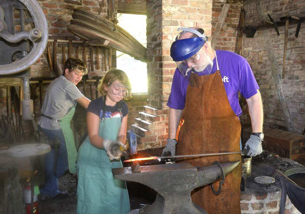 Rural Life Museum holds camp for youth that shows lifestyle of rural life, circa 1800 _lowres