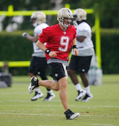 Video: Brees likes the playmakers on the Saints defense _lowres