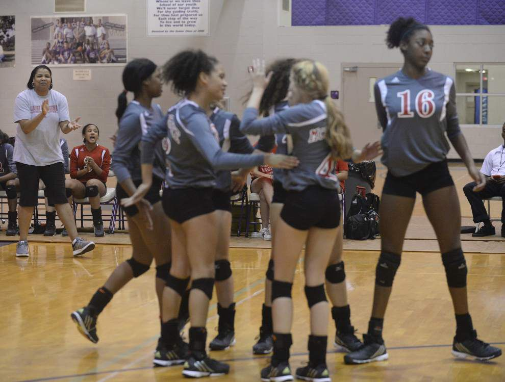 Photos: Woodlawn hosted South Louisiana Volleyball Invitational Saturday _lowres