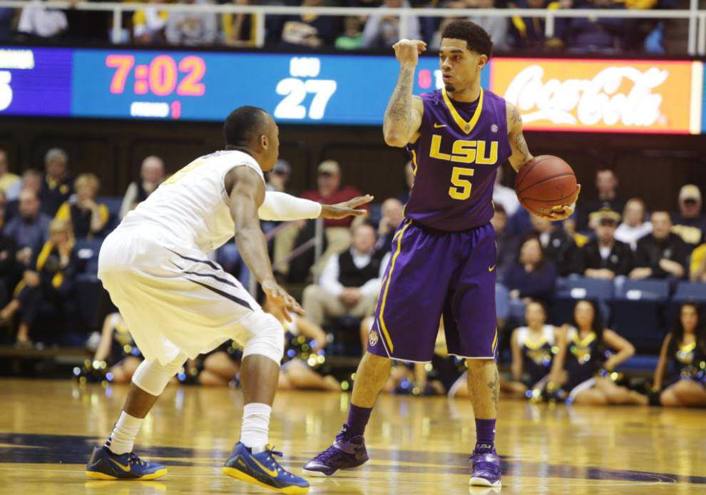 Video: LSU guard Josh Gray tells how he got he his game-winning layup against West Virginia _lowres