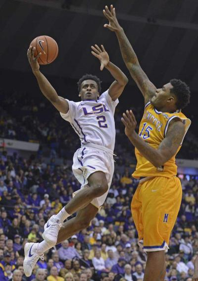 Photos: LSU tops McNeese St. in basketball season opener Friday at the PMAC _lowres