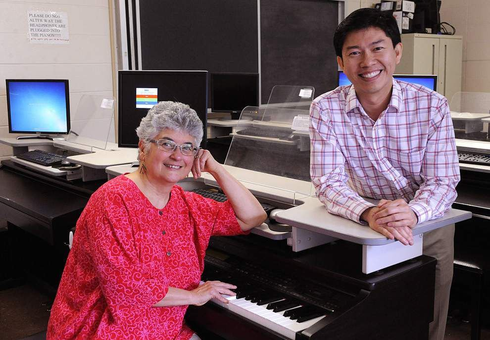 UL-Lafayette music professors create online textbook to teach piano _lowres