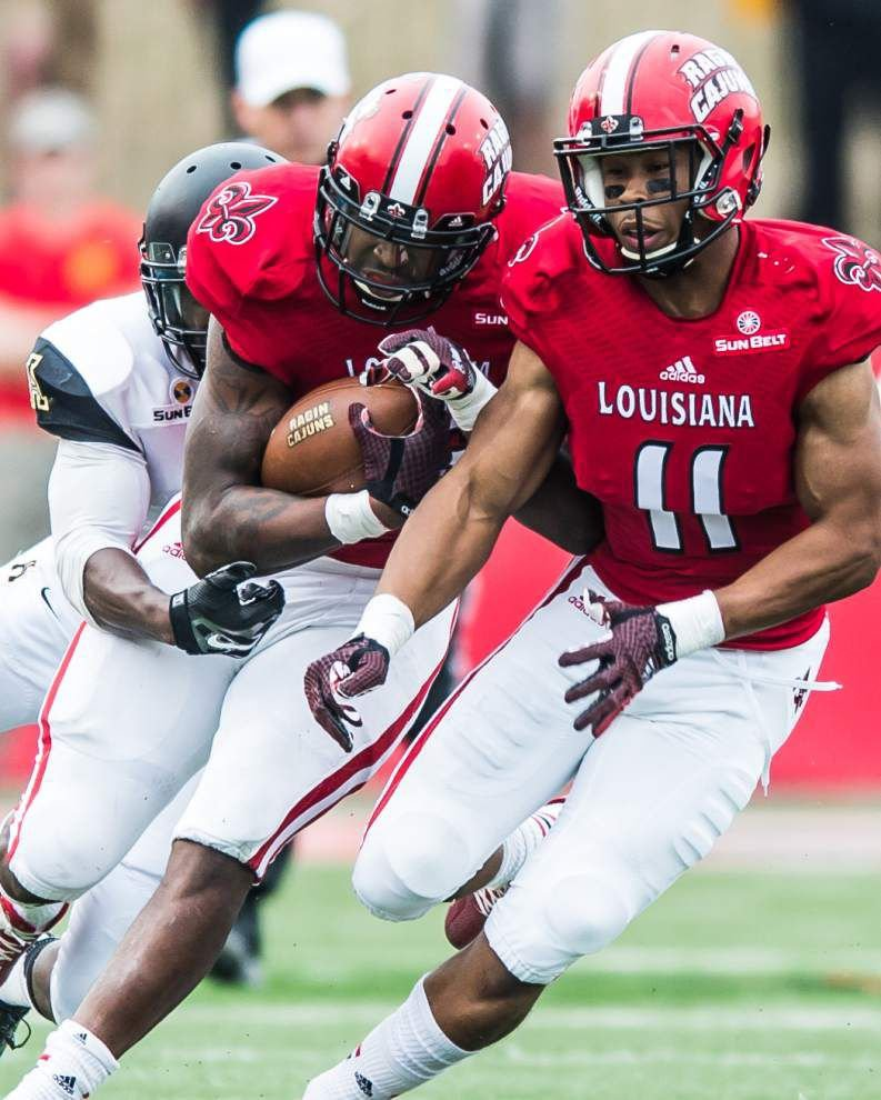 Cajuns' flow of sacks ran dry against Appalachian St. _lowres