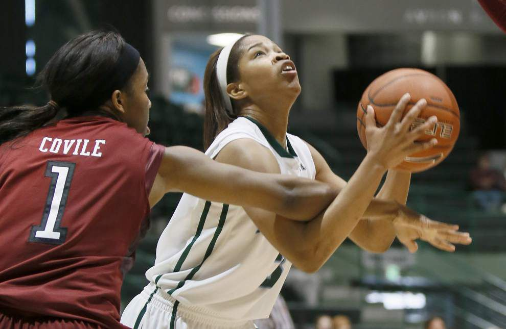 Chinwe Duru scores 23 points; Green Wave women topple Temple _lowres
