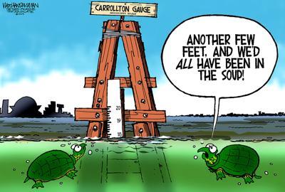 Walt Handelsman: Cartoon Caption contest Winners!