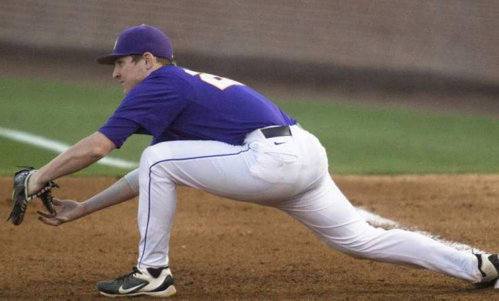 The missing piece: Third base void on Paul Mainieri's mind as LSU baseball starts practice _lowres