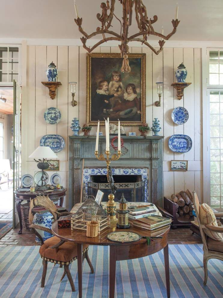 Georgia Antiques Dealer Collects And Restores Houses