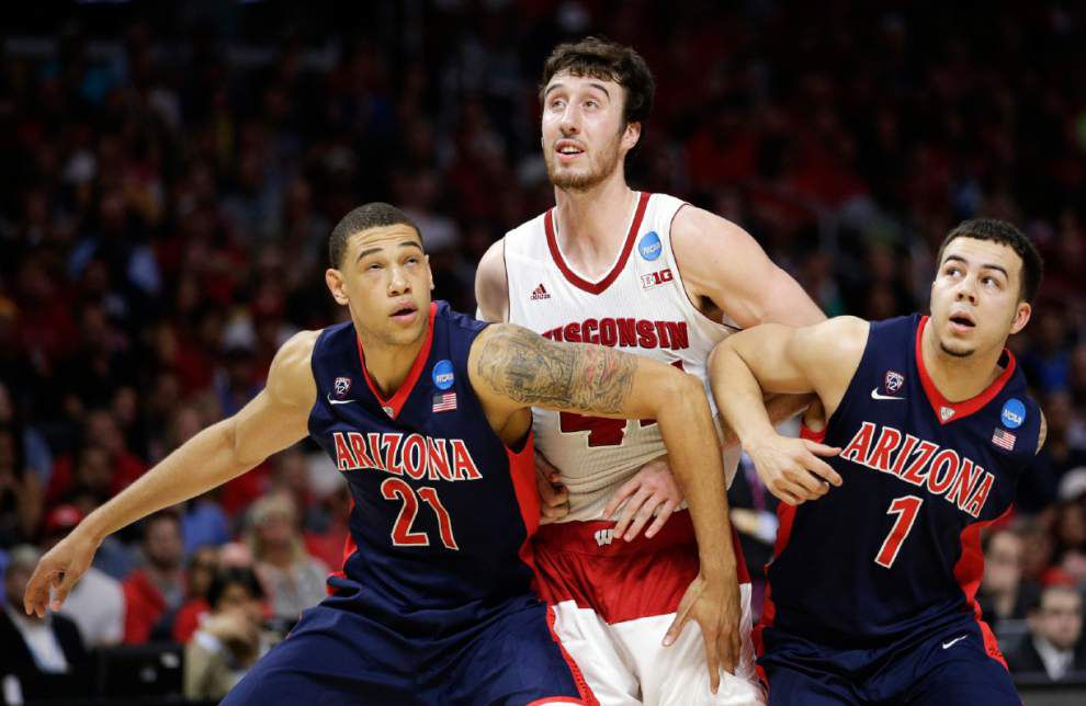 Wisconsin's Frank Kaminsky tops AP All-America team; LSU's Jarell Martin is honorable mention _lowres