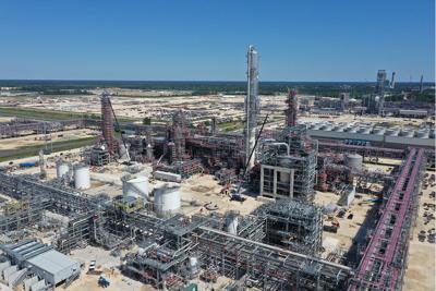 Sasol ethane cracker Lake Charles