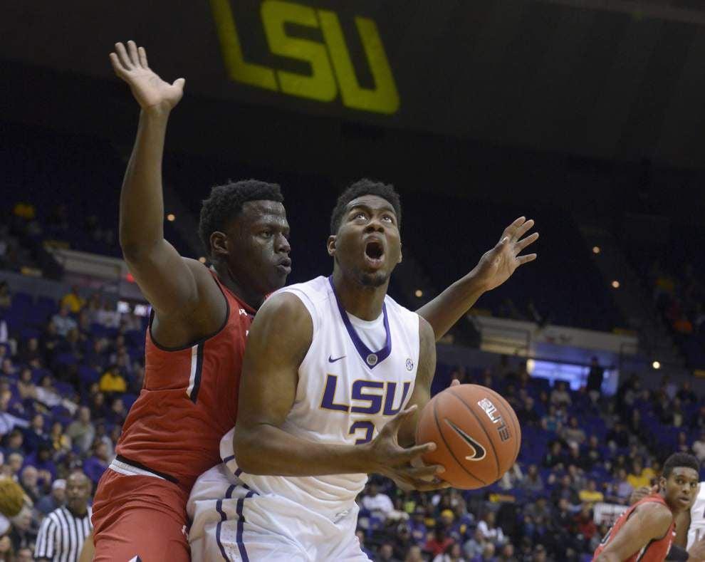 Opening tip: Clemson vs. LSU men's basketball _lowres