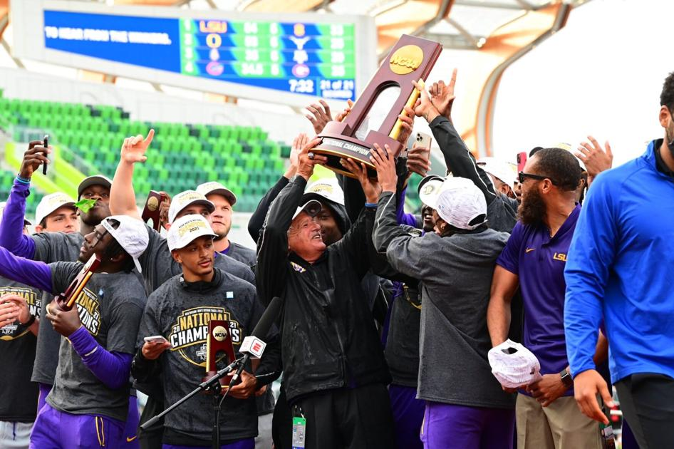 National title for the Tigers! LSU men's track and field team claims NCAA championship in a runaway