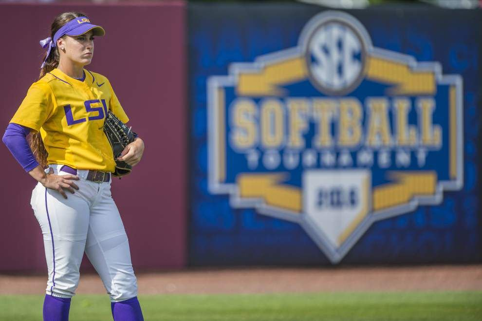 SEC softball championship game: Sloppy second inning costs LSU in 7-1 loss to defending champion Auburn _lowres