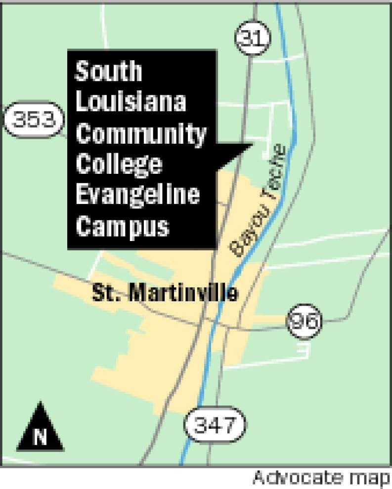 St. Martinville land donated for new SLCC Evangeline campus ... on itc campus map, university of north dakota campus map, del mar college campus map, indiana wesleyan university campus map, shawnee state university campus map, tyler junior college campus map, clark college campus map, cumc campus map, salt lake community college campus map, georgia southwestern state university campus map, uw-l campus map, georgetown college campus map, slc campus map, clermont college campus map, snow college campus map, golden west college campus map, bccc campus map, colorado christian university campus map, utah campus map, jackson state university campus map,