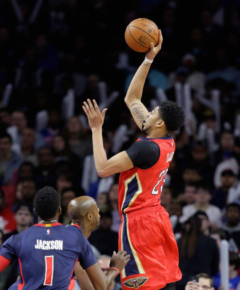 'That's the way bigs play:' Anthony Davis and Karl-Anthony Towns are part of a new guard of NBA big men, who can do it all on the court _lowres