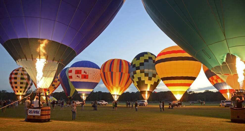 Hot Air Balloon Festival turns a profit for second time since moving to Ascension Parish four years ago _lowres