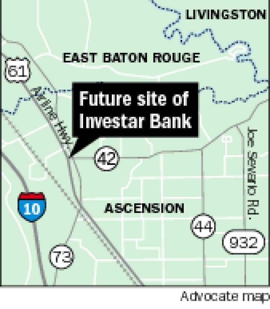 Investar buys land for Prairieville branch _lowres