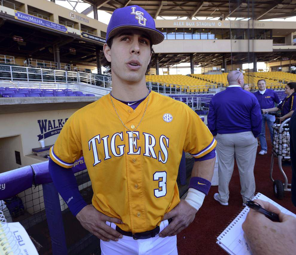 Inexperienced LSU baseball lineup 'light years' better, still developing as opening day nears _lowres