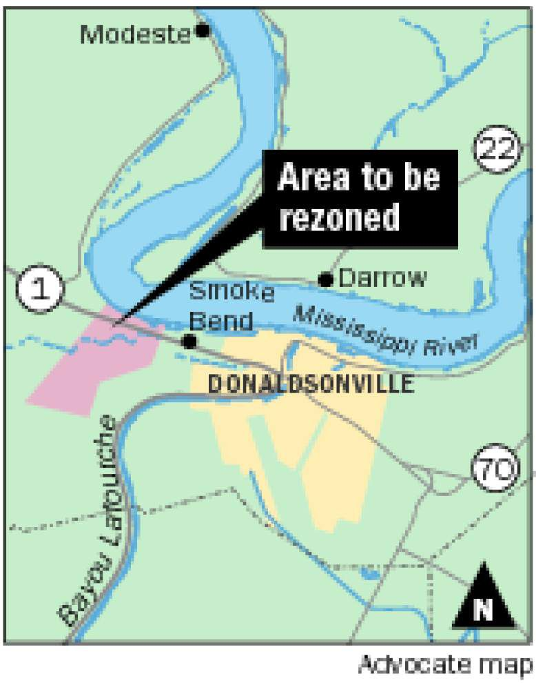 Ascension officials, landowners take first steps to open river-front land for industrial development _lowres